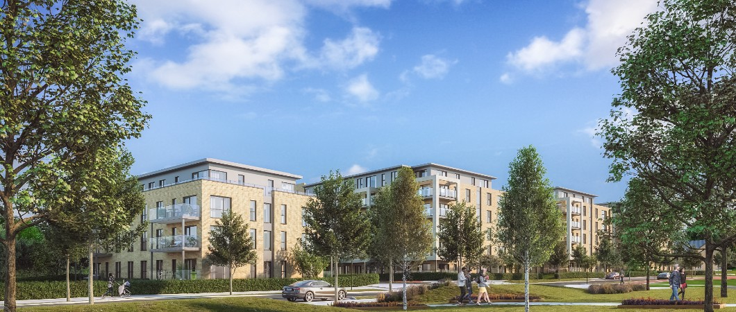 CGI of U Citywest Quarter